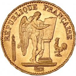 20 francs Génie 1875A