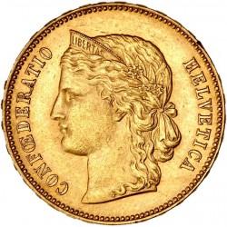 Suisse - 20 francs Helvetia 1893 B