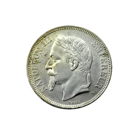 5 francs Napoléon III 1870 BB