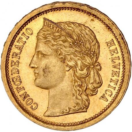 Suisse - 20 francs Helvetia 1886 B