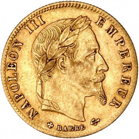 5 francs Napoléon III 1866 BB