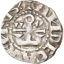 Anjou - Denier de Foulques IV et V