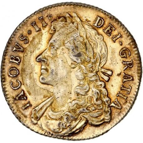 Angleterre - Shilling de Jean II - 1685