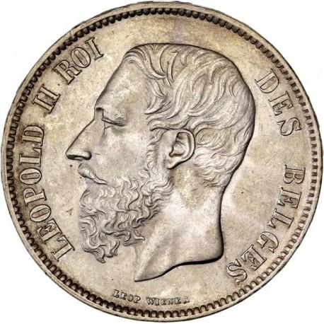 Belgique - 5 francs 1872