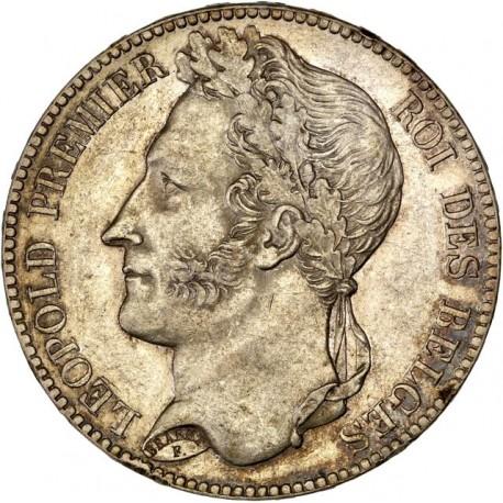 Belgique - 5 francs 1847