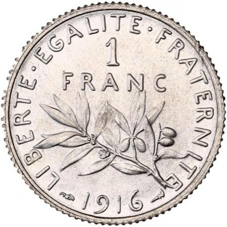 1 Franc Semeuse 1916 MS66