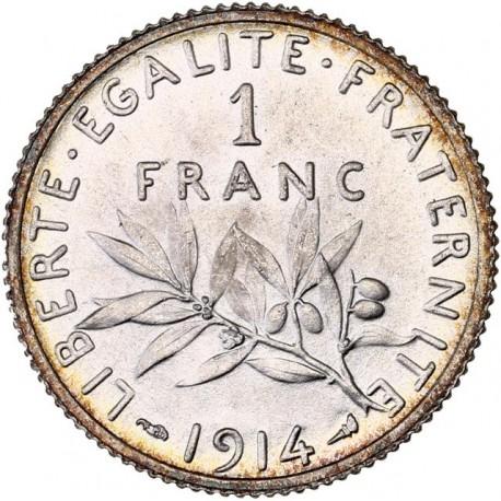 1 Franc Semeuse 1914 MS65