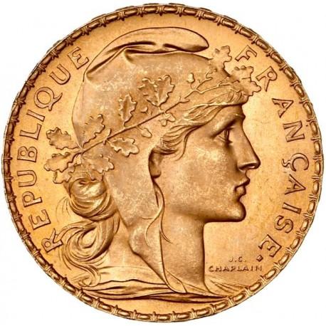 20 francs Coq & Marianne 1907