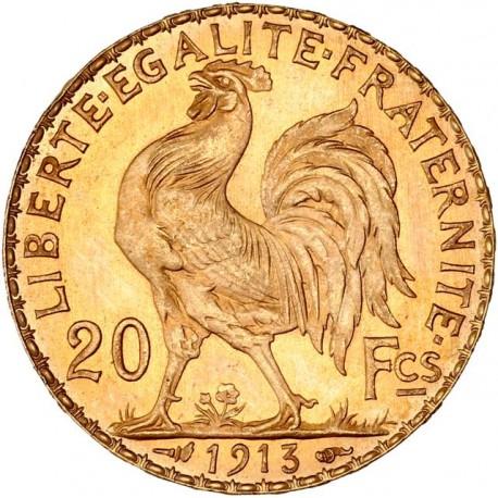20 francs Coq & Marianne 1913