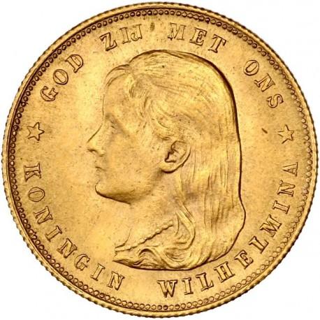 Pays Bas - 10 florins 1897