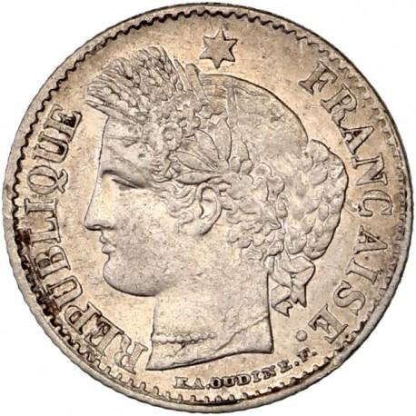 Lot de 20 centimes Cérès (1850 - 1851)
