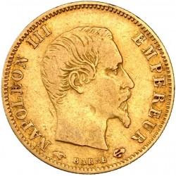 5 francs Napoléon III 1859 A