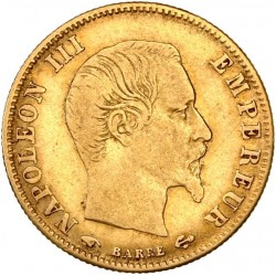 5 francs Napoléon III 1860 A