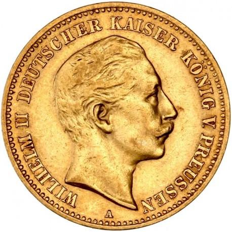 Allemagne - Prusse 10 mark 1904 A