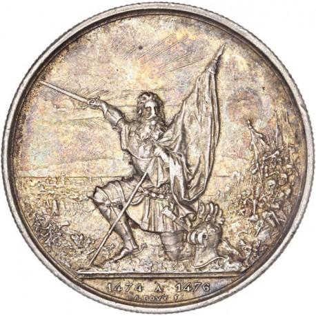 Suisse - 5 francs  Tir Fédéral Saint Gall 1874