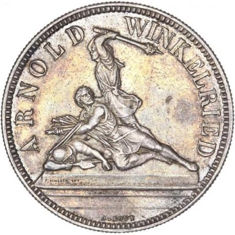 Suisse - 5 francs  Tir Fédéral Berne 1861 (Nidwalden)