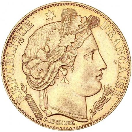10 francs cérès 1895 A