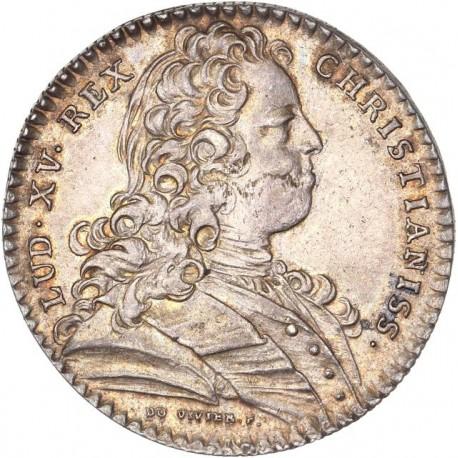 Jeton argent Louis XIV - Ville de Rennes - 1728