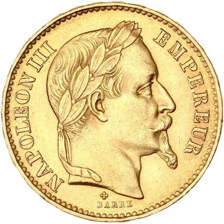20 francs Napoléon III - 1870 BB