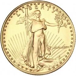 Etats Unis d'Amérique 25 dollars (1/2 once)