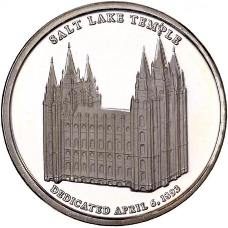 Etats Unis d'Amérique -  Troy Once Temple de Salt Lake City