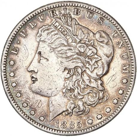 Etats Unis d'Amérique - 1 dollar 1885 S