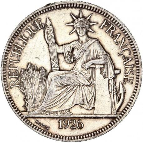 Indochine - 1 piastre de Commerce 1926