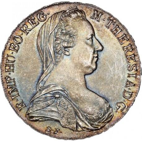 Autriche - Refrappe du Thaler de Marie Thérèse 1780