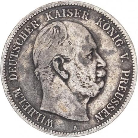 Lot de 5 monnaies argent - Etats allemands
