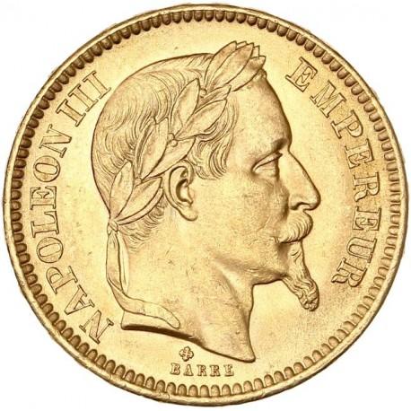 20 francs Napoléon III 1864 BB