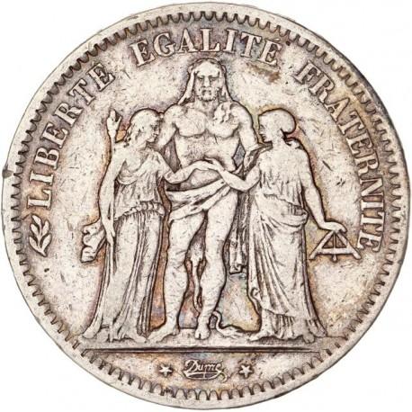 5 francs Hercule 1849 K