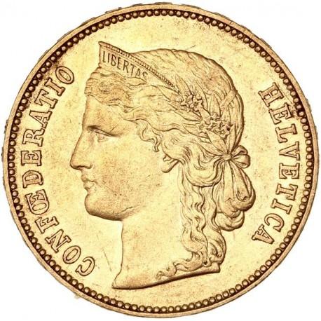 Suisse - 20 francs Helvetia 1894 B