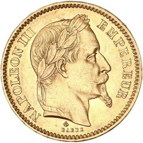 20 francs Napoléon III - 1862 A