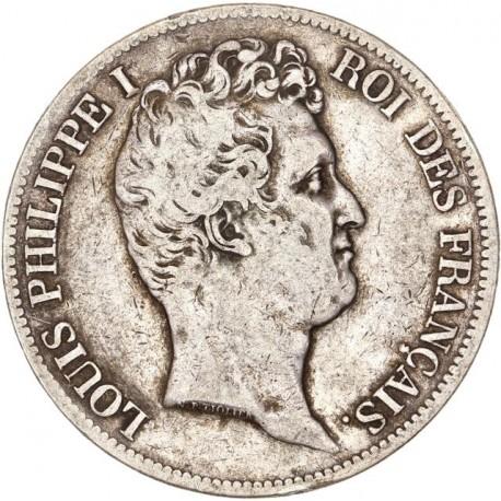5 francs Louis Philippe Ier 1831 T
