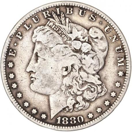 Etats Unis d'Amérique - 1 dollar 1880 O