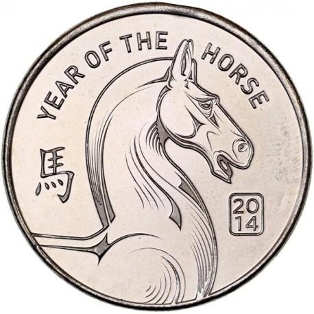 Etats Unis d'Amérique -  Troy Once 2014 (année du cheval)