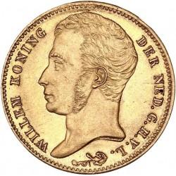 Pays Bas - 10 florins Guillaume Ier 1840