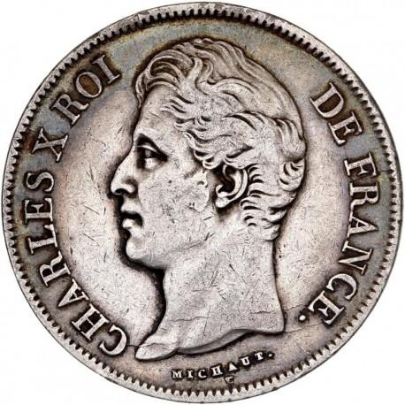 5 francs Charles X 1828 M