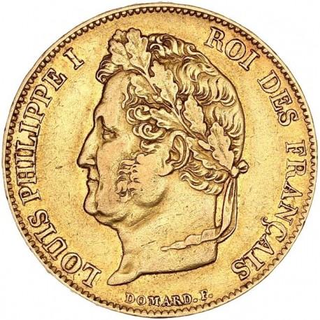 20 francs Louis Philippe Ier 1834 B Rouen
