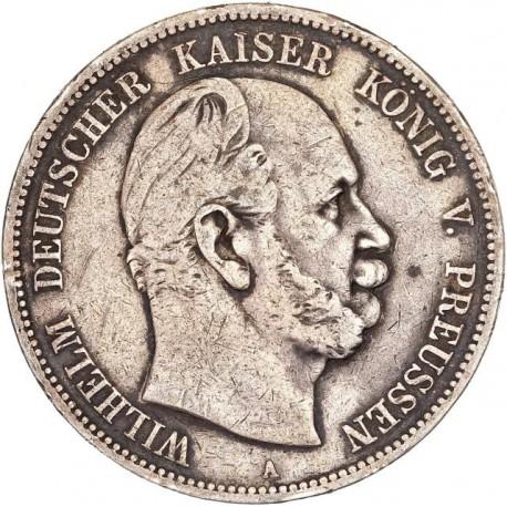 Allemagne - Prusse - 5 mark 1876 A
