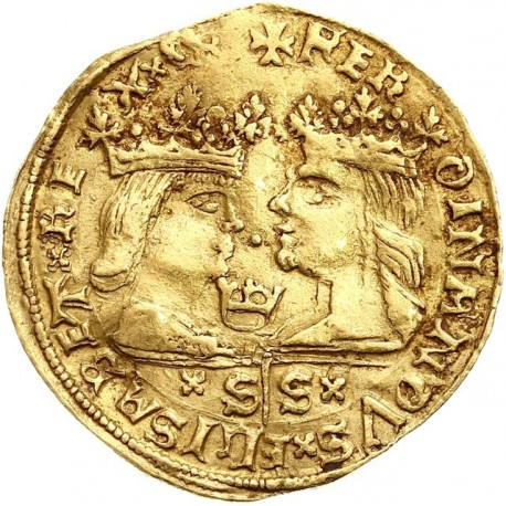 Espagne - Excelente (ducat) Ferdinand V et Isabel