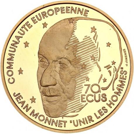 500 francs or Monnet 1992