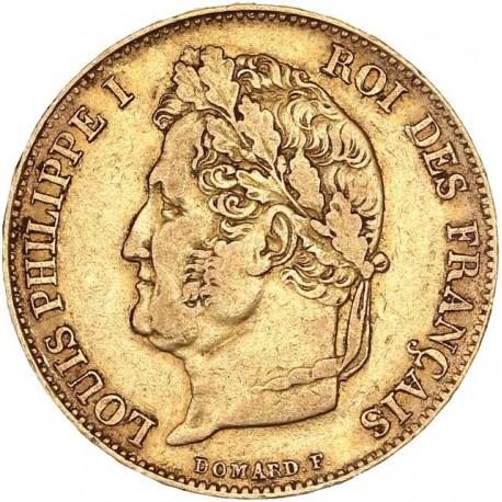 20 francs Louis Philippe Ier 1842 A Paris