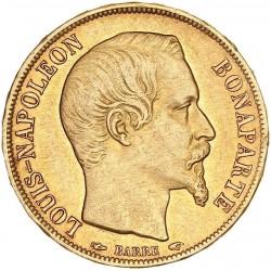 20 francs Louis-Napoléon 1852 A