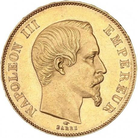 50 francs Napoléon III 1855 A