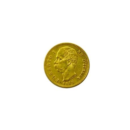 Italie - 20 lires Umberto Ier - 1889 R