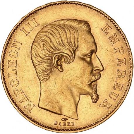 50 francs Napoléon III 1856 A