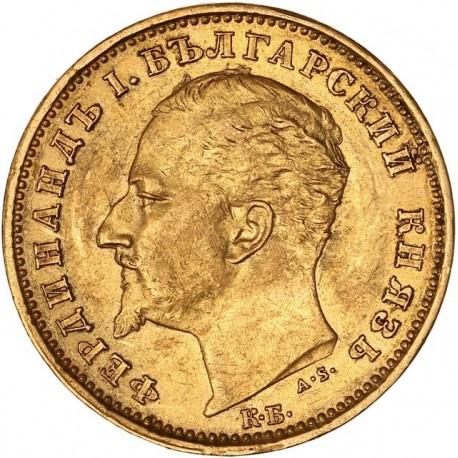 Bulgarie - 20 leva 1894