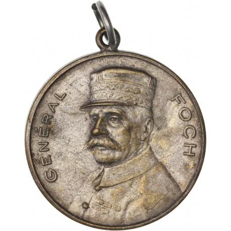 Médaille Maréchal Foch - Alliance francaise 1918