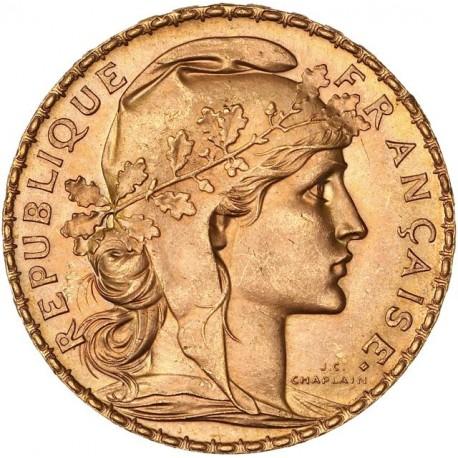 20 francs Coq & Marianne 1908